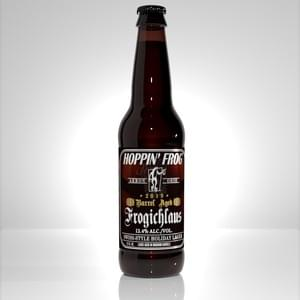 BARREL-AGED FROGICHLAUS SWISS-STYLE HOLIDAY LAGER (2019)